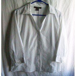 Style & Co. Petite Button Down Blouse - Size 14P